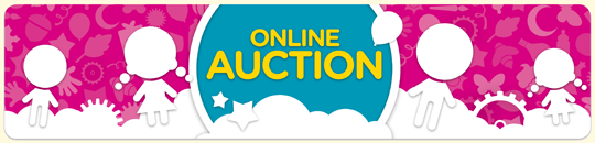 Online Auction Welcome Banner